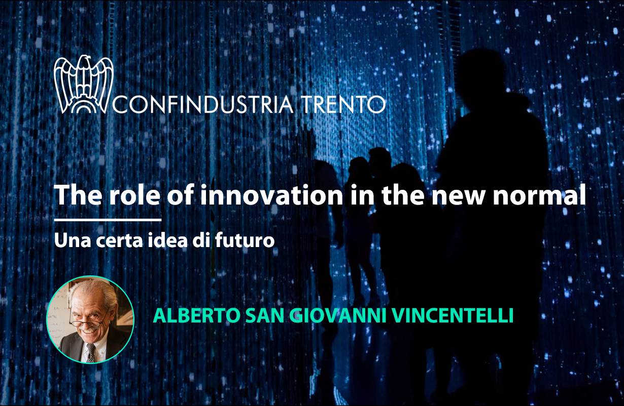 "Puntata ""The role of innovation in the new normal"""